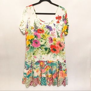 Jams World | RARE print Hattie Dress Size Medium